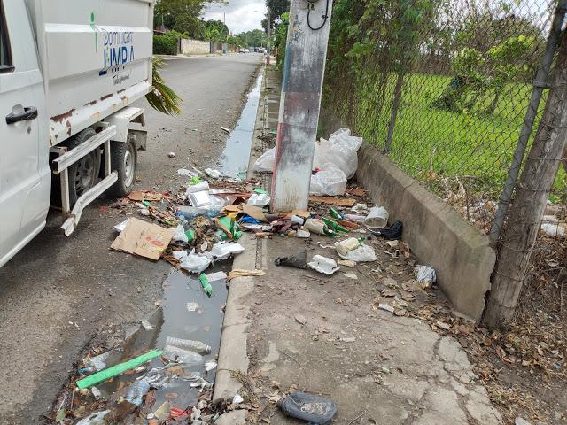 Ayuntamiento de Tamboril sigue eliminando vertederos improvisados.
